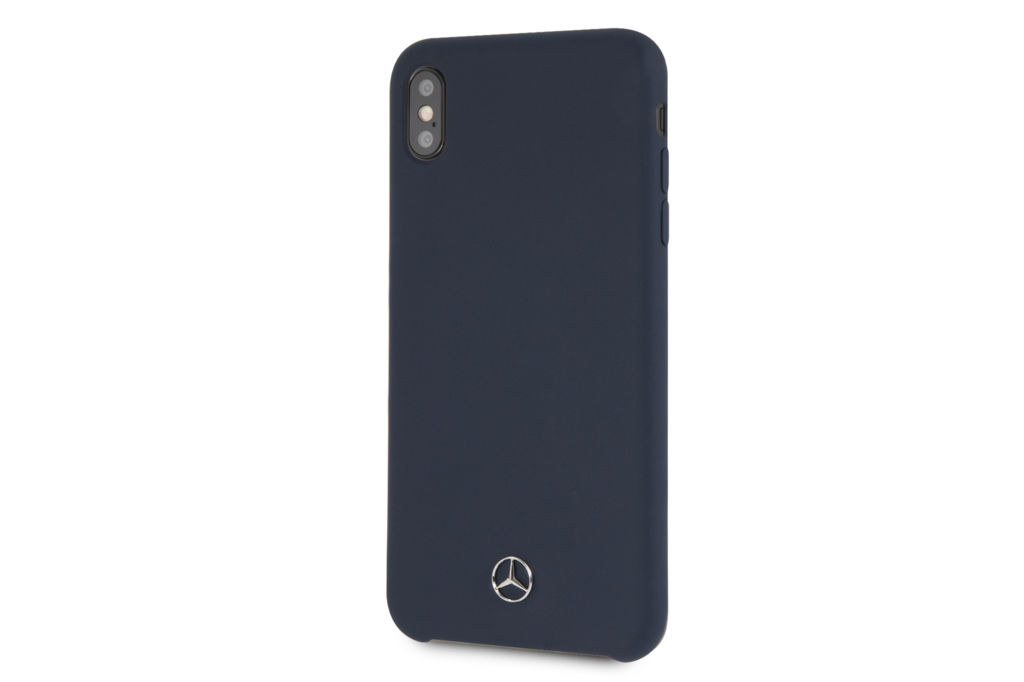 Mercedes-Benz Mercedes-Benz back cover for iPhone Xs Max - Navy