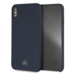 Mercedes-Benz back cover for iPhone Xs Max - Navy