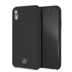 Mercedes-Benz back cover for iPhone XR - Black