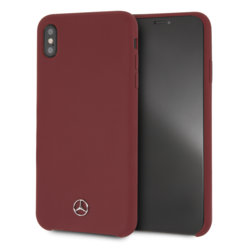 Mercedes-Benz Coque pour iPhone Xs Max - Rouge
