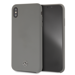 Mercedes-Benz back cover for iPhone Xs Max - Grey