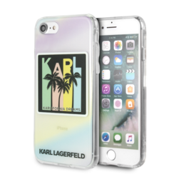 Karl Lagerfeld Coque pour iPhone 7-8 - Print