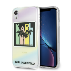 Karl Lagerfeld back cover for iPhone XR - Print