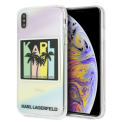 Karl Lagerfeld back cover for iPhone Xs Max - Print