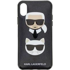 Karl Lagerfeld Coque pour iPhone X-Xs - Noir