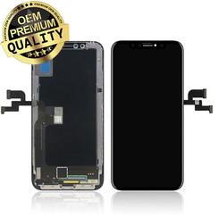 iPhone X OLED Display + Touchscreen compleet  - Zwart (8719273144497)