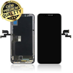 iPhone X OLED Display + Touchscreen complete  - Black (8719273144497)