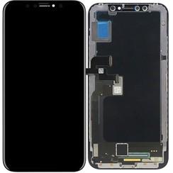 Original Apple OLED display voor Apple iPhone X - Zwart (8719273144473)