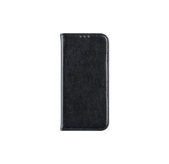 Samsung Galaxy A6 (2018) Pasjeshouder Zwart Booktype hoesje - Magneetsluiting - Kunststof;TPU
