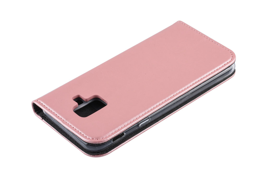Book Case for Galaxy A6 (2018) - Rose Gold