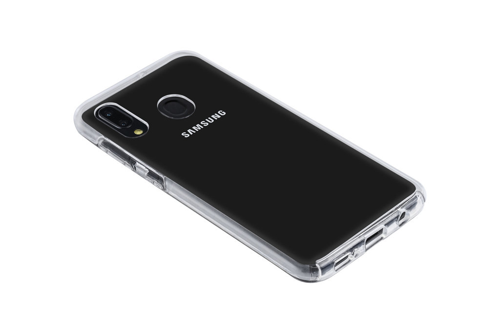 Back Cover for Galaxy A30 - Transparent
