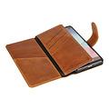 Pierre Cardin Pierre Cardin Book Case for Galaxy S10 - Brown