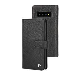 Pierre Cardin Book case für Galaxy S10 Plus - Schwarz