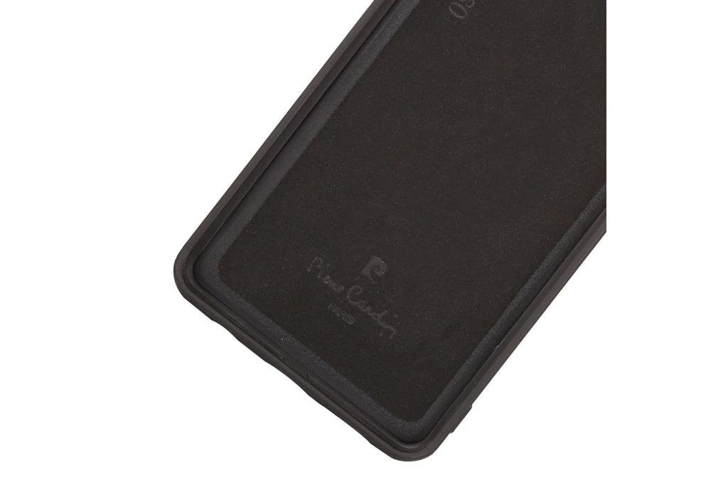 Pierre Cardin Pierre Cardin Back Cover for Galaxy S10 - Black