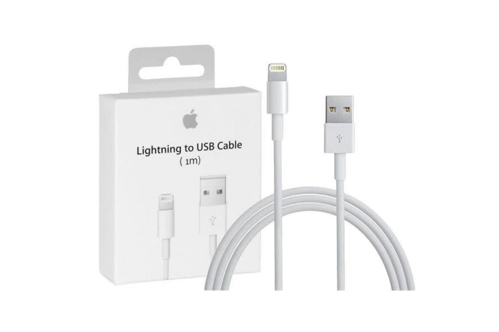 Apple Apple data cable MD818ZM/A Lightning to USB cable in Blister - 1m White