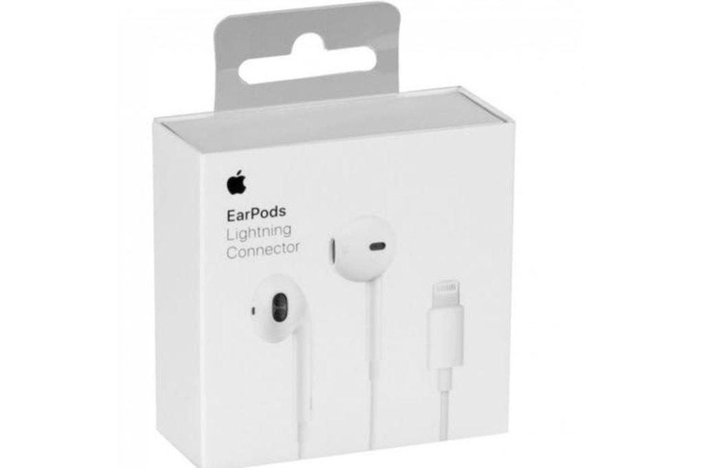 Apple Apple headset MMTN2FE/A EarPods lightning in blister - White