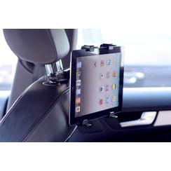 Tablethouder hoofdsteun auto 360 graden - UNIQ Accessory - Zwart