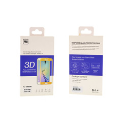 Tempered glass voor Galaxy S6 Edge (8719273203897)-Transparant