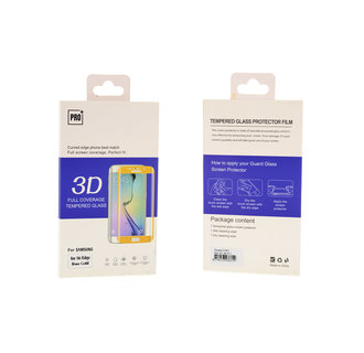 Tempered glass voor Galaxy S6 Edge Transparant