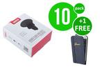 UNIQ Accessory 10 x Ventilatierooster autohouder van UNIQ Accessory (+Gratis iPhone 6 Case van Guess-3700740350027)