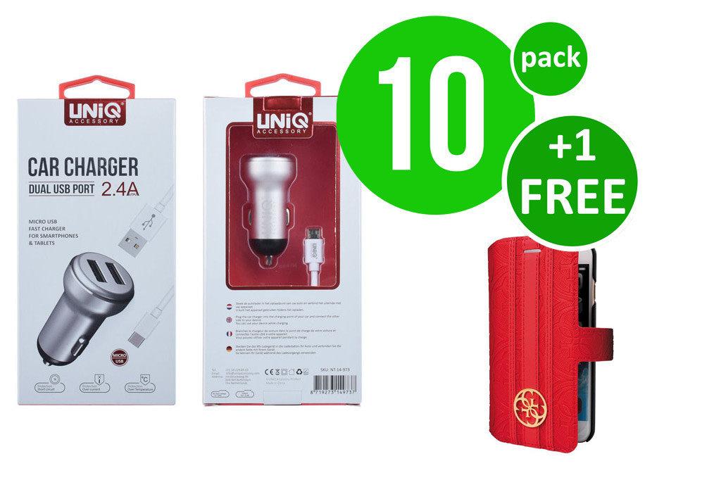 UNIQ Accessory Advantage Pack for Micro USB Autolader - 0