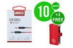 UNIQ Accessory Advantage Pack for Audiokabel - 0