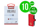 UNIQ Accessory Advantage Pack for USB Type-C Kabel - 0