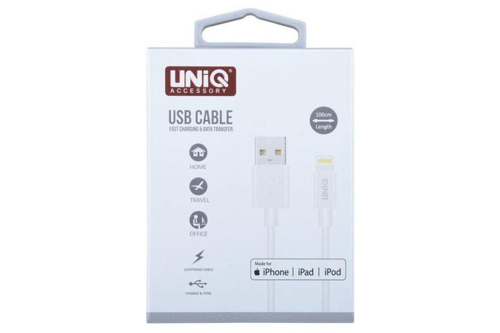 UNIQ Accessory 10 x MFI Lightning USB Kabel van UNIQ Accessory 2.4A (+Gratis iPhone 6 Case van Guess-3700740349762)