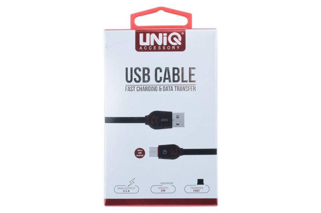 UNIQ Accessory 10 x Micro USB fast charging 2m kabel van UNIQ Accessory (+Gratis iPhone 6 Case van Guess-3700740350027)
