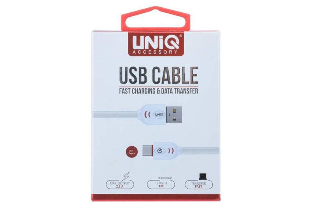 UNIQ Accessory 10 x USB Type-C fast charging kabel van UNIQ Accessory (+Gratis iPhone 6 Case van Guess-3700740349762)