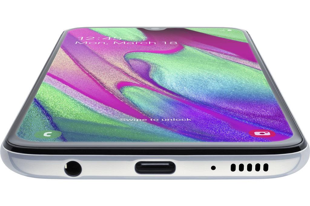 Samsung Samsung Galaxy A40 (64GB) - Wit