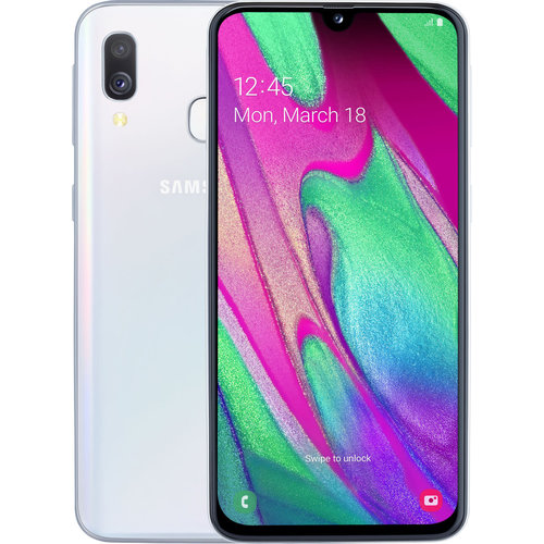 Samsung Samsung Galaxy A40 (64GB) - Wit