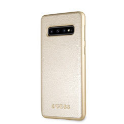 Guess Coque pour Galaxy S10 - Or