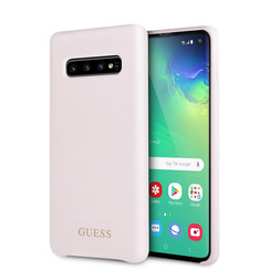 Guess Coque pour Galaxy S10 - Rose