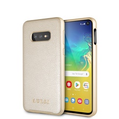 Guess back cover for Galaxy S10e - Gold