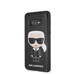 Karl Lagerfeld back cover for Galaxy S10e - Black