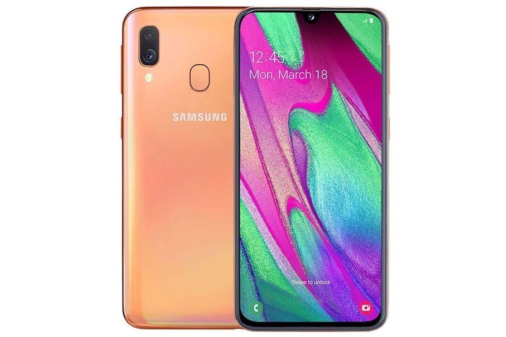 Samsung Samsung Galaxy A40 (64GB) - Oranje