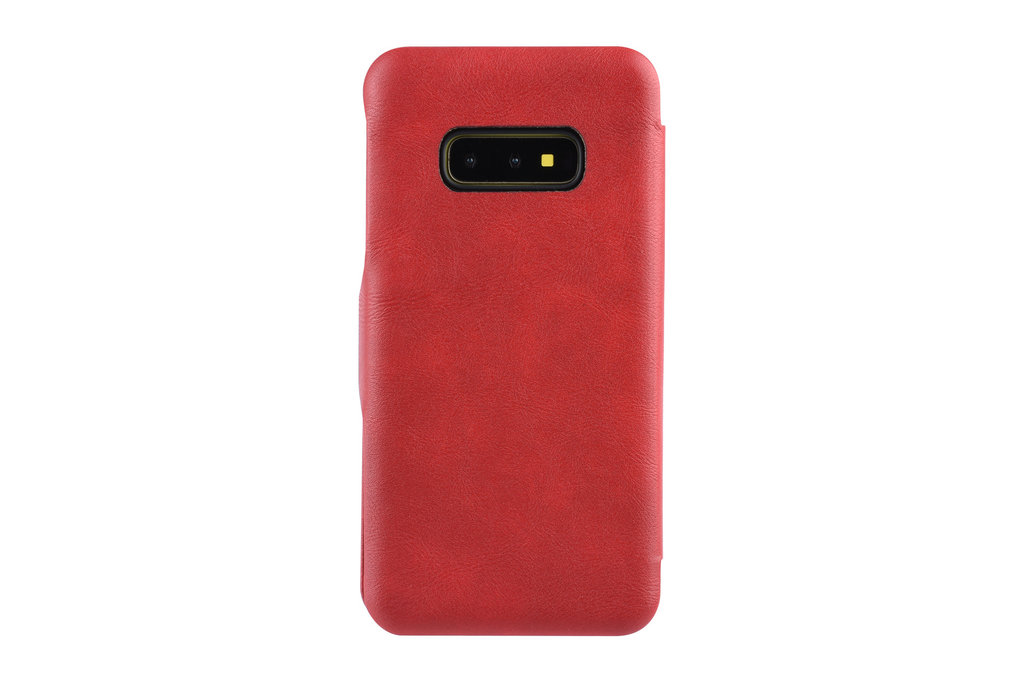 UNIQ Accessory Book Case voor Samsung Galaxy S10e - Rood