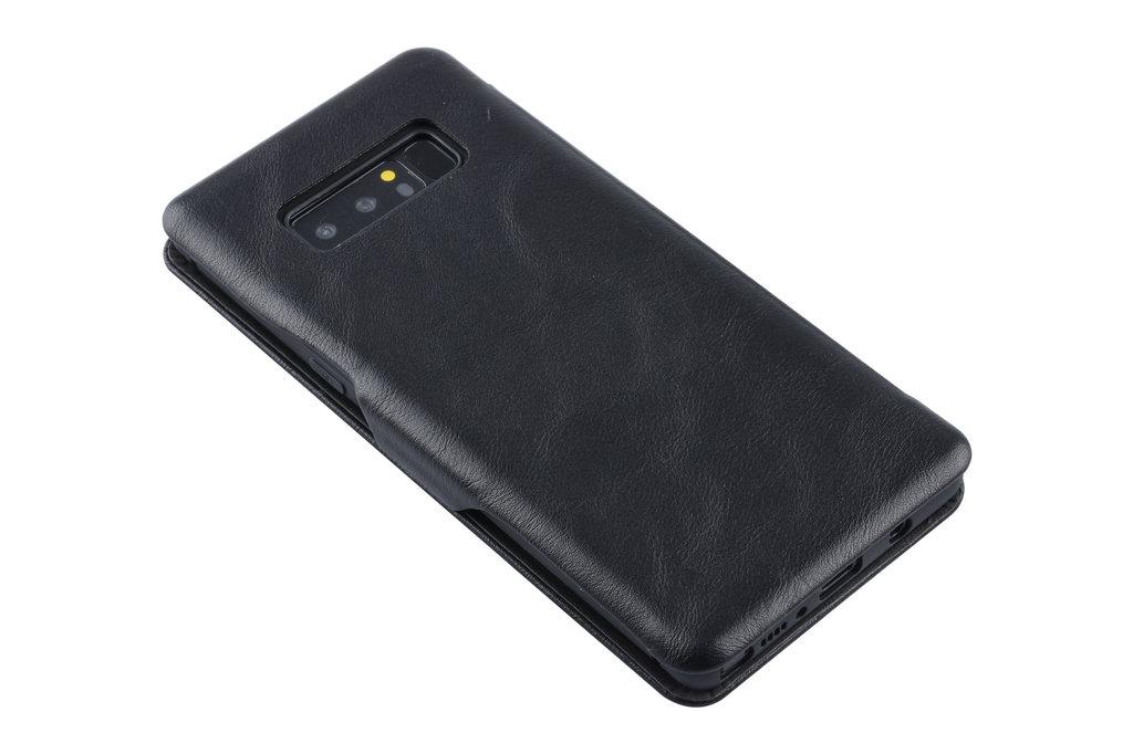 UNIQ Accessory Book Case voor Samsung Galaxy Note 8 - Zwart