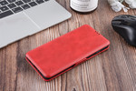 UNIQ Accessory Samsung Galaxy S10 Card holder Red Book type case for Galaxy S10 Magnetic closure