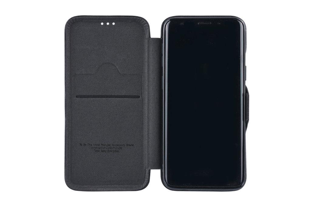 UNIQ Accessory Book Case for Galaxy S9 Plus - Black