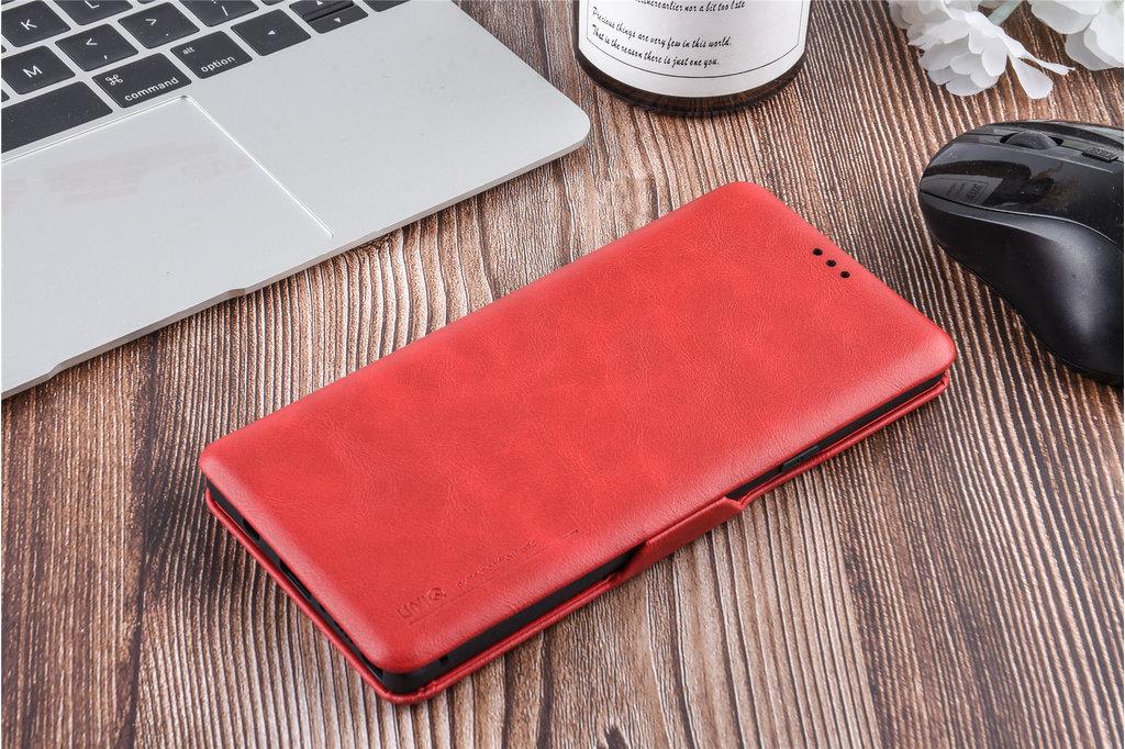 UNIQ Accessory Book Case for Galaxy Note 9 - Red