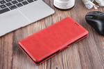 UNIQ Accessory Samsung Galaxy Note9 Card holder Red Book type case for Galaxy Note9 Magnetic closure