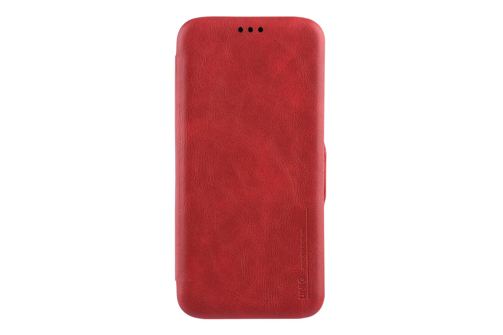 UNIQ Accessory Samsung Galaxy S9 Plus Card holder Red Book type case for Galaxy S9 Plus Magnetic closure