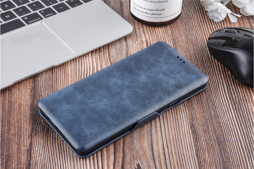 UNIQ Accessory Samsung Galaxy Note9 Card holder Blue Book type case for Galaxy Note9 Magnetic closure
