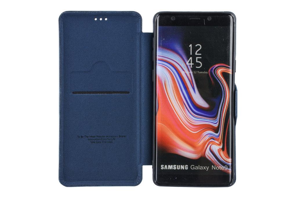 UNIQ Accessory Book Case for Galaxy Note 9 - Blue