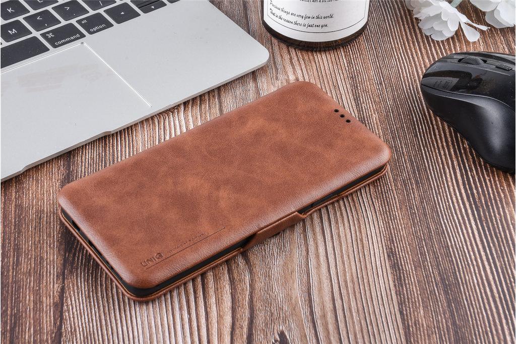 UNIQ Accessory Book Case voor Samsung Galaxy S9 Plus - Bruin