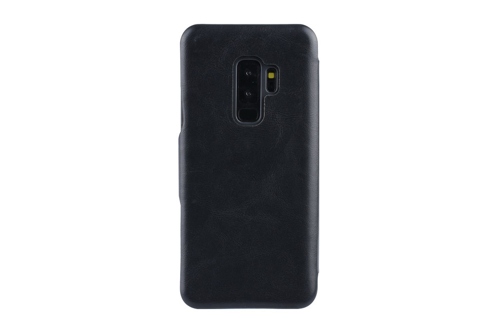 UNIQ Accessory Book Case voor Samsung Galaxy S9 Plus - Zwart