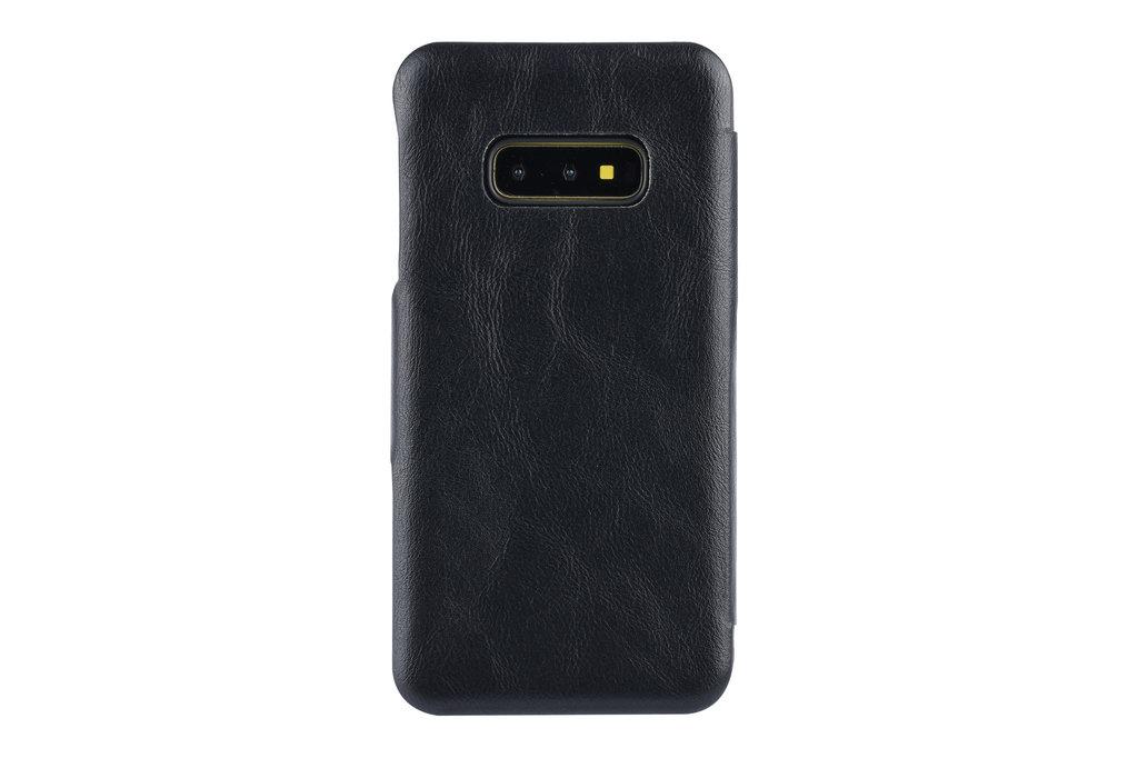 UNIQ Accessory Samsung Galaxy S10e Card holder Black Book type case for Galaxy S10e Magnetic closure