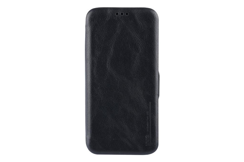 UNIQ Accessory Samsung Galaxy S9 Plus Pasjeshouder Zwart Booktype hoesje - Magneetsluiting - Kunststof;TPU
